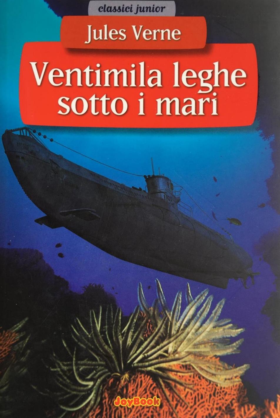 libro Ventimila leghe - romanzo