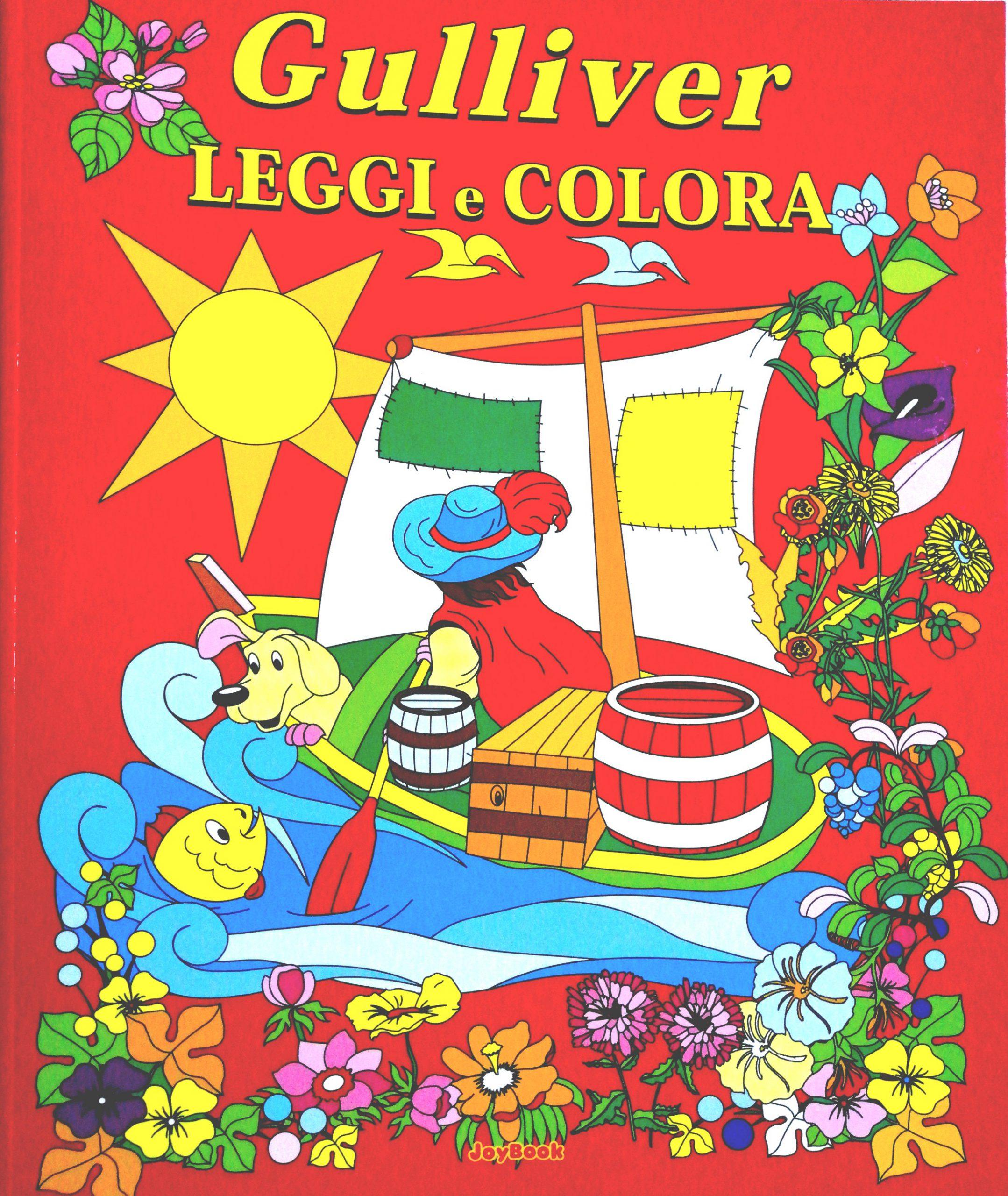 Libro 0 4 Anni In Offerta Gulliver Leggi E Colora